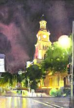 A Rainy Evening - Sydney Town Hall