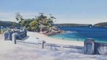 Afternoon Light Along the Promenade - Balmoral Beach