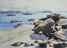An Afternoon at Milk Beach - Sydney Harbour