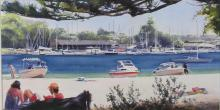 Beached at Clontarf - Sydney