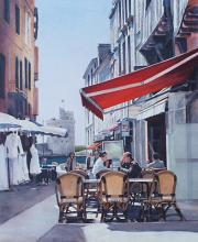 Cafe Sojourn In La Rochelle - France