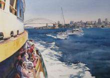 Cruising Sydney Harbour