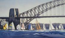 Duelling Sails - Sydney Harbour