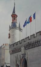 Hotel de Ville (City Hall) La Rochelle - France