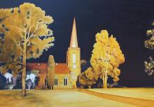 Light On the Hill - St. John's Church Camden