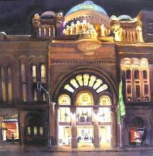 QVB By Night - Sydney