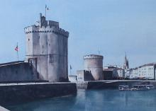 The Towers of La Rochelle, Bay of Biscay - France