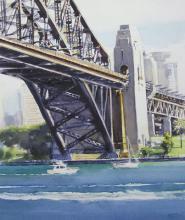 Under The Arch - Sydney Harbour Bridge